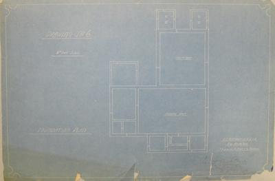 [Thames Valley Co-op. Dairying Co. Ltd. Matatoki Cheese Factory] Drawing No.6. Foundation Plan.