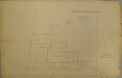 [Thames Valley Co-op. Dairying Co. Ltd] Matatoki Cheese Factory. Locality Plan.
