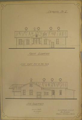 [Thames Valley Co-op Dairying Co. Ltd. Wharepoa Cheese Factory] Drawing No.2.