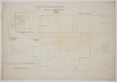 [Thames Valley Co-op Dairying Co Ltd.] Waitoa Dried Milk Factory - Engine House. Details of Generator Bed.