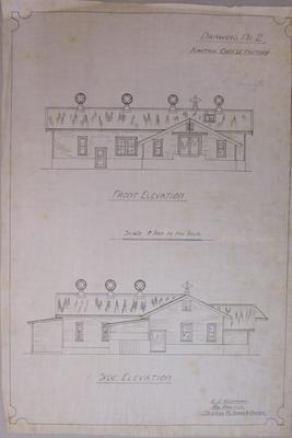 [Kiwitahi Co-op Dairy Co Ltd] Kiwitahi Cheese Factory. Drawing No.2.
