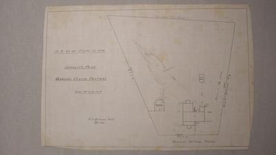 NZ Co-op Dairy Co Ltd. Okoroire Cheese Factory. Locality Plan