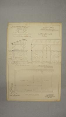 [NZ Co-op Dairy Co Ltd] Cheese Factory at Orini. Sheet No.6. Coal Bunker.