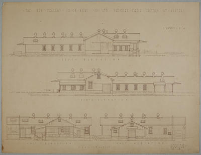 The New Zealand Co-op. Dairy Coy Ltd. Proposed Cheese Factory at Ngatea. Sheet No. 4