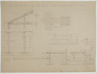 The New Zealand Co-op. Dairying Coy Ltd. Proposed Cheese factory at Ngatea.  Sheet No. 9. [Details]