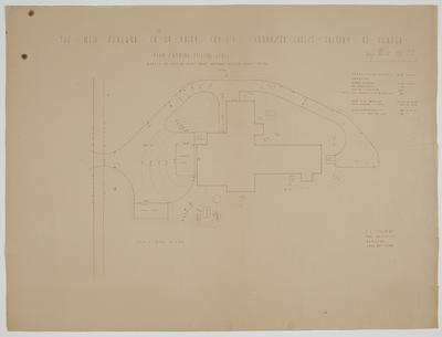 The New Zealand Co-op. Dairy Coy Ltd. Proposed Cheese Factory at Ngatea. Plan [of site] Showing Filling Levels.