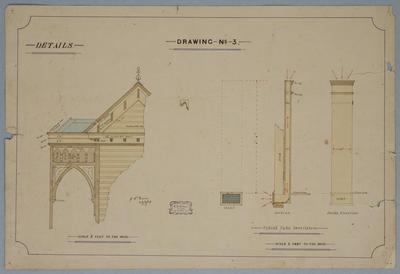 [Church] Drawing No. 3. Details