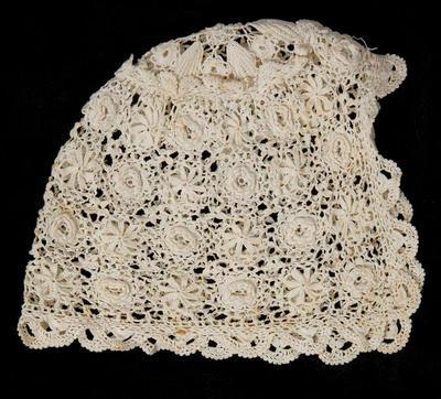 Infant's Lace Bonnet