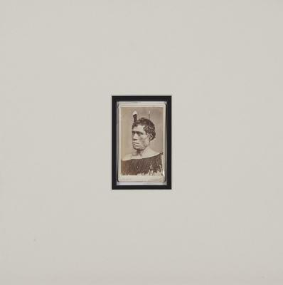 Portrait of a Maori Chief