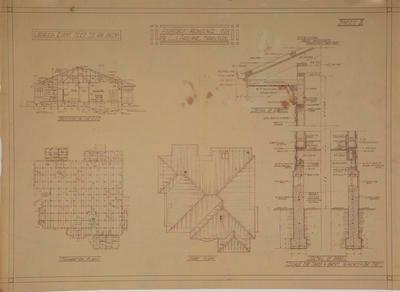 Proposed Residence for Mr C.J. Parlane,  Hamilton. Sheet 2