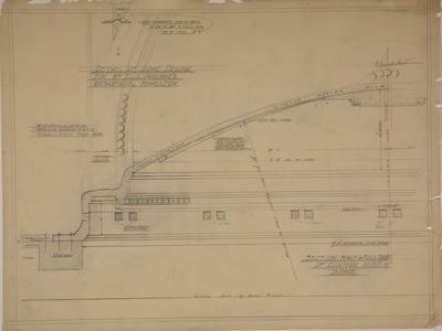 Detail of Dome Ceiling for Mr C.J. Parlane's Residence, [Kitchener St,] Hamilton.