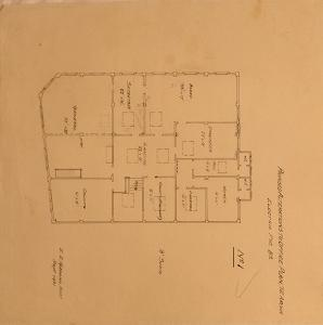 Proposed Alterations to Office Plan,Te Aroha Electric Power Bd. No.1
