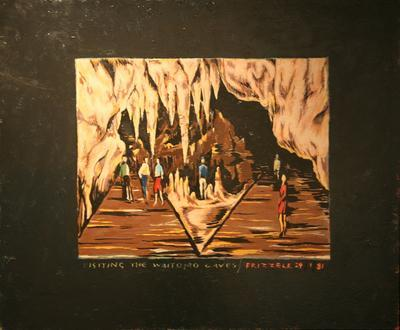 Visiting the Waitomo Caves