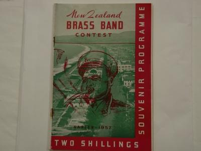 Booklet - NZ Brass Band Contest Programme 1957