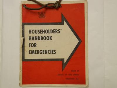 Handbook - Householders Handbook for Emergencies