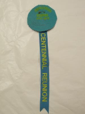 Badge – Rangiriri School Centennial 1876–1976