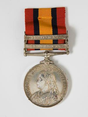 Medal – Queen's S. A. (2nd Strike), R.Manning