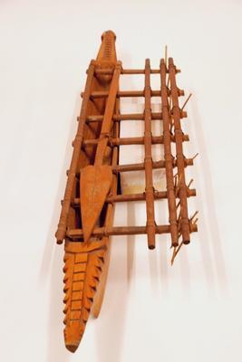 Outrigger canoe (model)