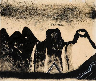 Mountains (as Kiwis); Pat Hanly; 1962; 1970/124/1