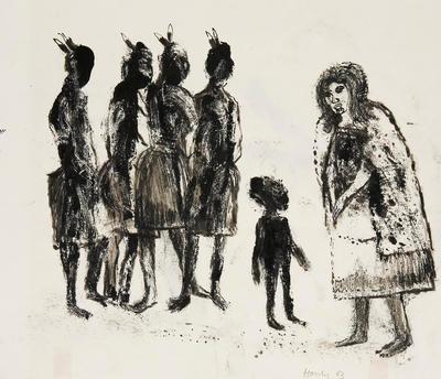 Maori Group (as Kiwis); Pat Hanly; 1963; 1970/126