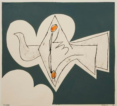 Bird Flight; Pat Hanly; Unknown; 1988/32/5