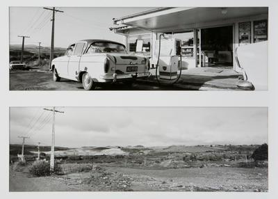 Coalfields Dairy, Kauri Road: Rotowaro - Two Years Apart 1987 & 1989
