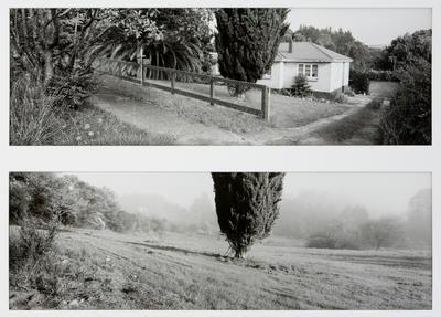 The Teacher's House,  Rotowaro - Two Years Apart