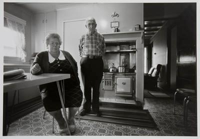Nan & Albert Grace in Their Kitchen: Rotowaro