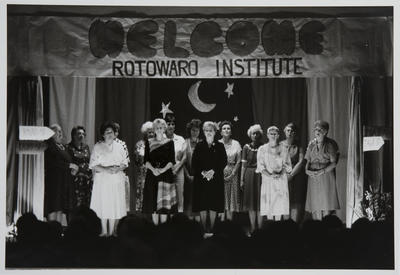 Grand Finale Concert of the Rotowaro Country Womens Institute: Rotowaro Hall