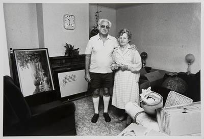 Lyall & Vera Yarrow Departing Their Rotowaro Home