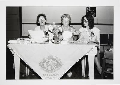 Branch Meeting of the Rotowaro Country Womens' Institute: Rotowaro Hall