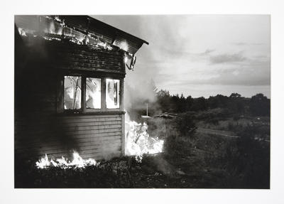 The Burning of the Nathans' House as an Exercise for the Huntly Fire Brigade I
