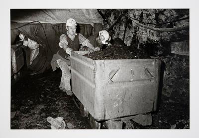 Pushing a Loaded Skip: Mahons' Mine, Rotowaro