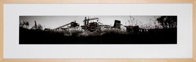 Abandoned Waikato Carbonisation Works Site (I): Rotowaro - 1988
