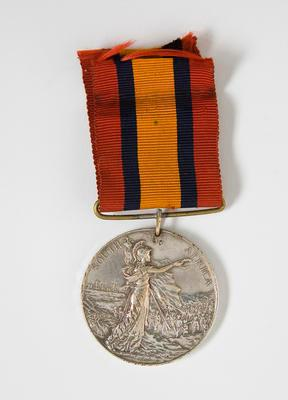 Medal – King's South Africa, W.B. McPherson