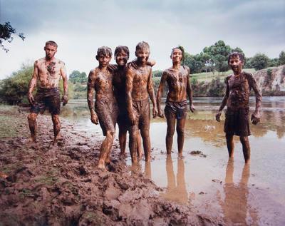 Mud fight, Hamilton East