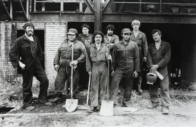 Staff at Carbonisation Works: Rotowaro