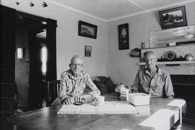 Frank and Malcolm Hunt