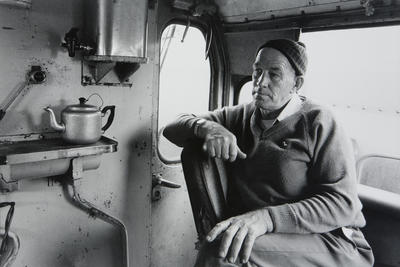 Train Driver at Huntly Railyard