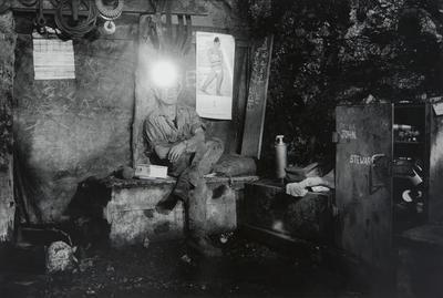 Miner on Tea Break
