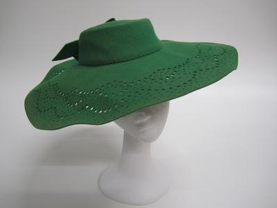 Women's green hat