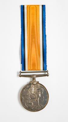 WWI British War medal – W.A. Gordon