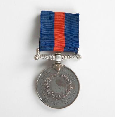 Medal N.Z. (Waikato Campaigns) G.R. Mc Donald