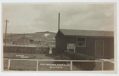 "Photograph: ""New Zealand Camp, Sling, Bulford"""
