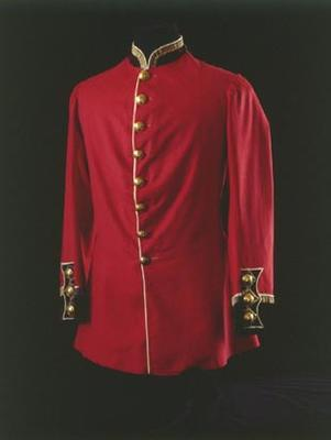 Officer's Tunic, Service Unit: 70th Regiment for the Waikato Campaigns.