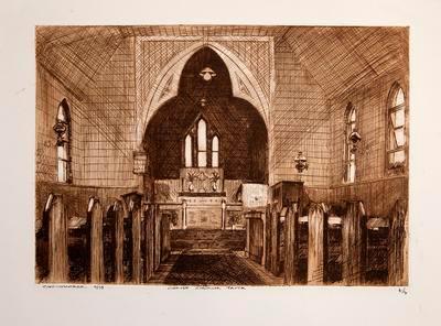 Christ Church Taita (Interior)