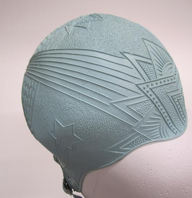 Women's acquamarine bathing cap