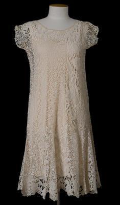 Dress - Cream Dress (Miss Von Sturmer)