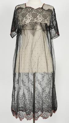 Dress - Black Net Lace Dress