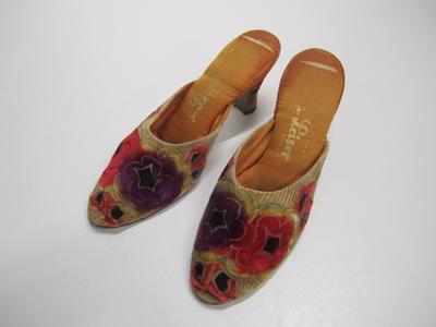 Women's evening slippers